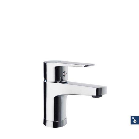 Monomando lavabo TITANIUM cromo