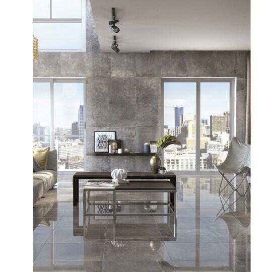 Pavimento 58,5x58,5 factory Grey
