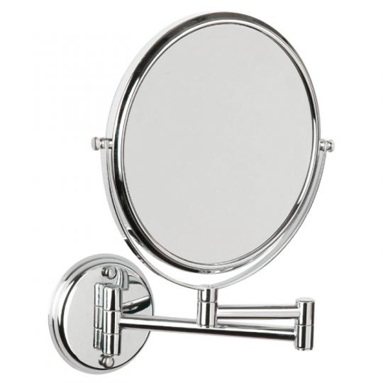 Espejo de aumento x5 2 caras 2 brazos